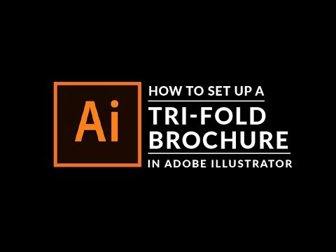 How To Create A Trifold Brochure in Adobe Illustrator