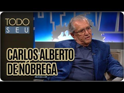 Entrevista Com Carlos Alberto De Nóbrega - Todo Seu (01/08/17)