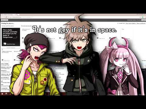 [new danganronpa V3 fandub cast] Playing cards against humanity #17: the best cosplays
