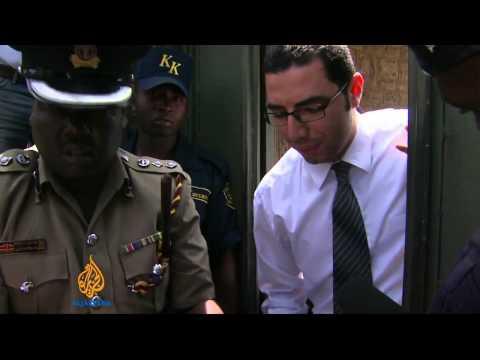 Journalists urge freedom for Al Jazeera staff