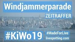 Kieler Woche 2019 Windjammerparade mit moderierte Webcam