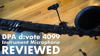 Gear Wars: DPA d:vote 4099 live instrument microphone review