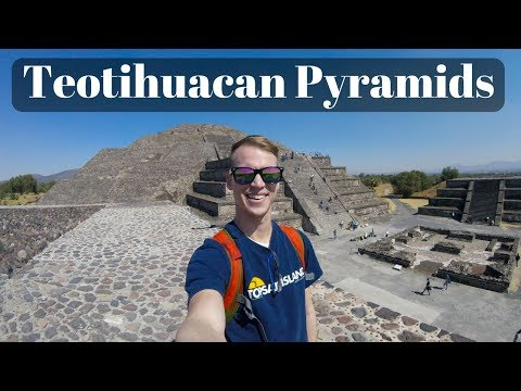 Pyramids of Teotihuacan - Mexico (Vlog)