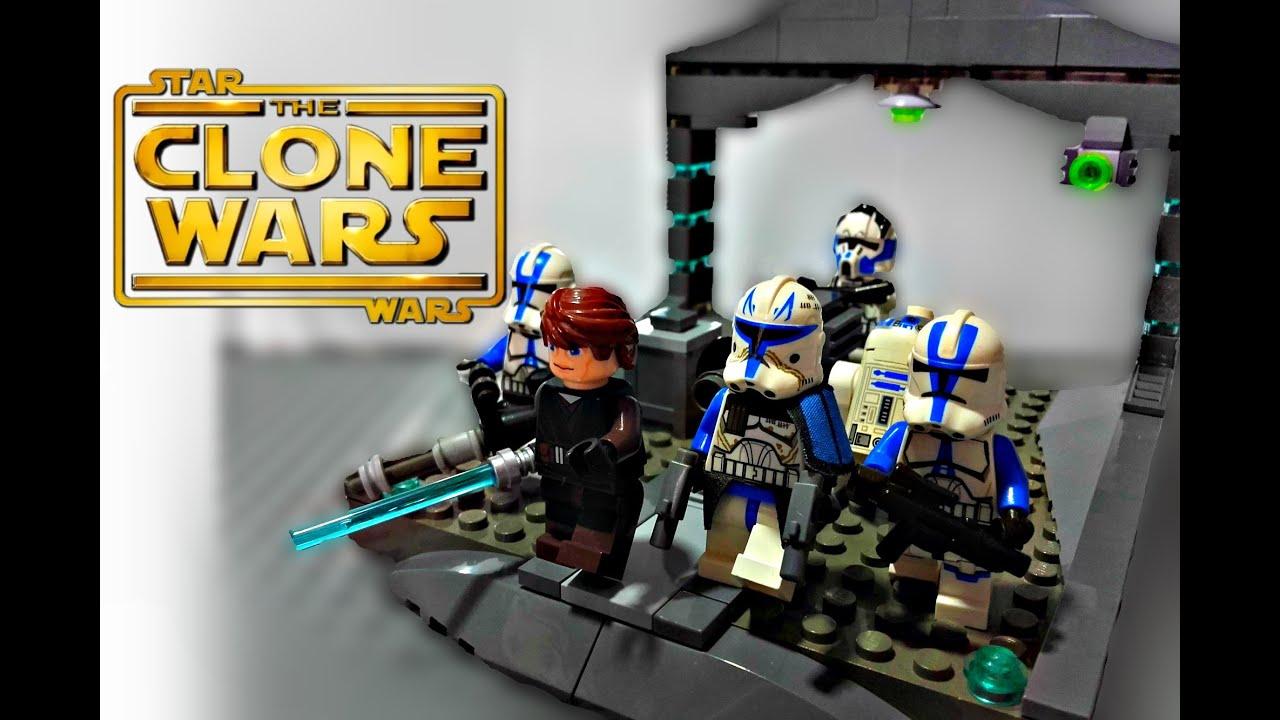 Lego Star Wars The Clone Wars Battle Of Ringo Vinda Moc Youtube