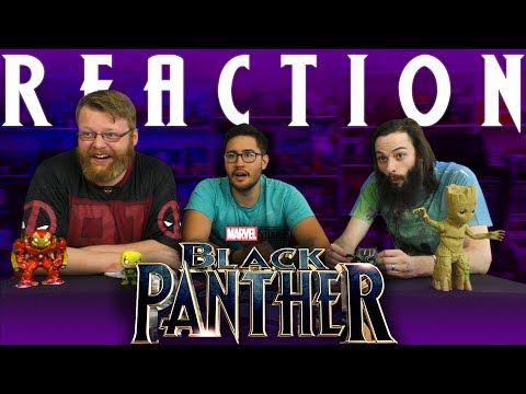 Black Panther Teaser Trailer REACTON!!