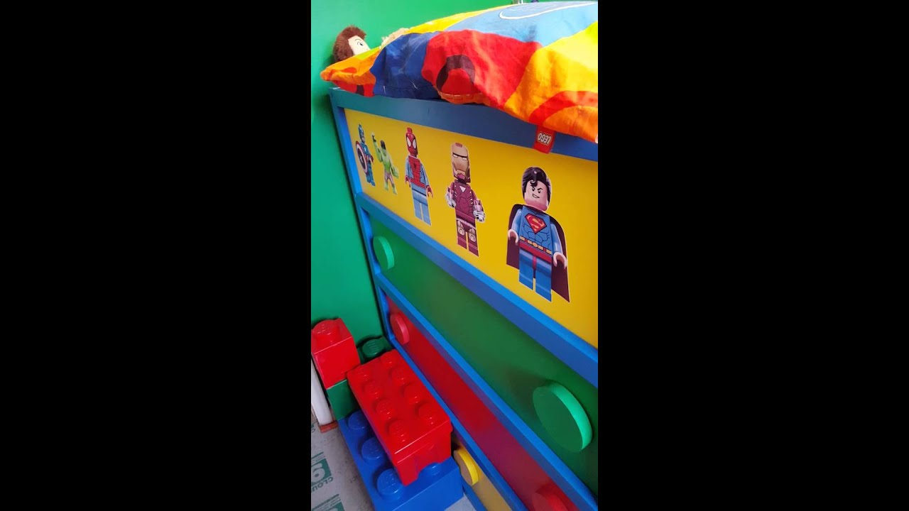 Room 2 Build Bedroom Kids Lego: Lego Bedroom Ideas, Tobys Room Using Ikea Furniture