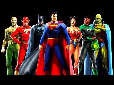 Justice League FULL Movie DC Heroes Superman Flash Batman