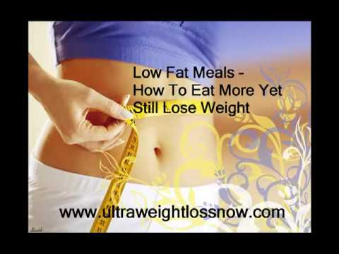 Low Fat Meal