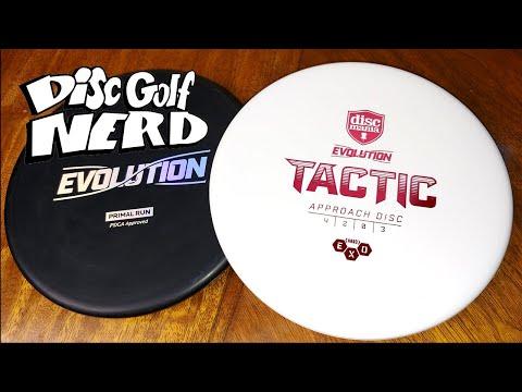 Discmania Evolution Tactic Disc Golf Disc Review - Disc Golf Nerd