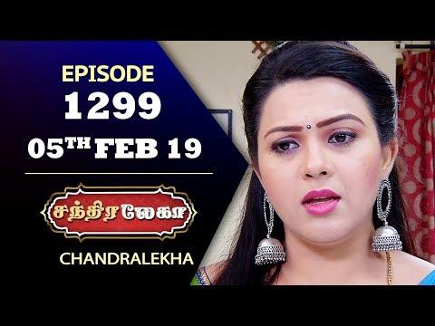 CHANDRALEKHA Serial | Episode 1299 | 05th Feb 2019 | Shwetha | Dhanush | Saregama TVShows Tamil