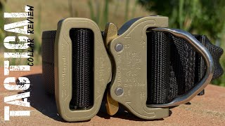 The 6 BEST Tactical Dog Collars In The World! - Royal Marine compares military style K9 collars