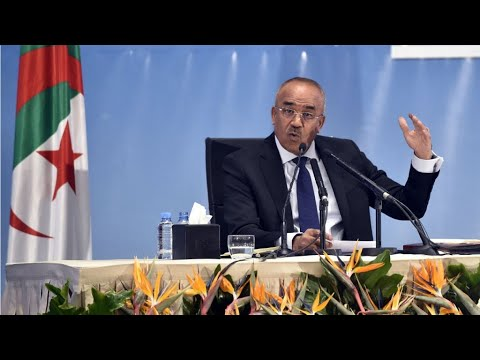 Algérie: conférence de presse du nouveau Premier ministre Noureddine Bedoui