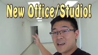 Our New Office Space & Studio - Channel Update