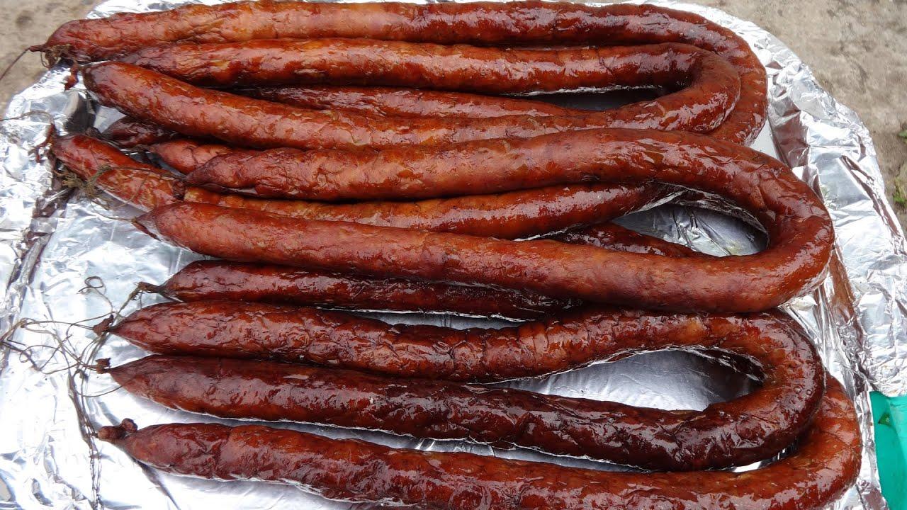 рецепты домашней колбасы горячее копчение