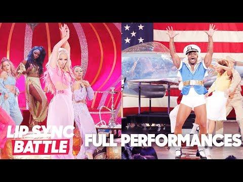 "Erika Jayne's ""Genie in a Bottle"" vs. Taye Diggs's ""Candyman""  Lip Sync Battle"