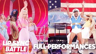 "Erika Jayne's ""Genie in a Bottle"" vs. Taye Diggs's ""Candyman"" | Lip Sync Battle"