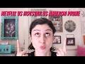 GIVEAWAY + NETFLIX vs HOTSTAR vs AMAZON PRIME !!!