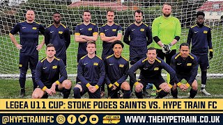 Legea Ultimate Eleven Cup (Game 1) Match Highlights: Stoke Poges Saints vs. Hype Train FC