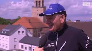 Rainer Jung vor dem 1. Rennen der 1. Bitburger 0,0% Triathlon-Bundesliga