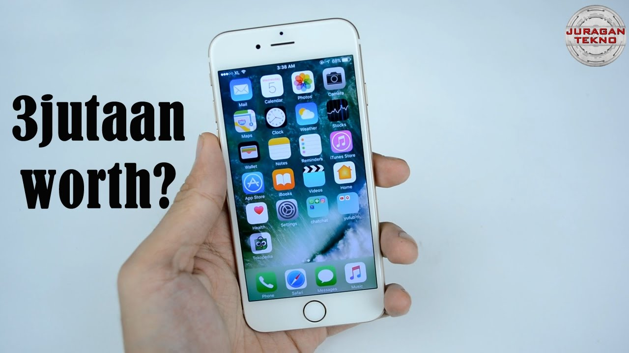 iphone refurbished. unboxing iphone 6 refurbished indonesia (juragan tekno)