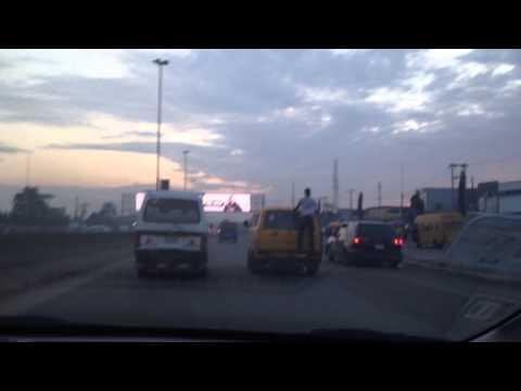 Nigeria Lagos - Taxi Surfing