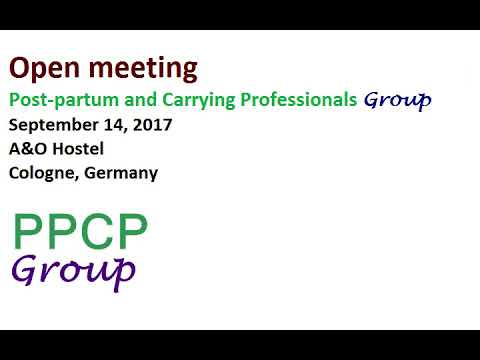 Open meeting September 14, 2017 Cologne Germany