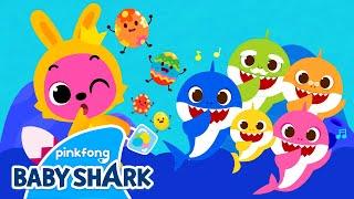 Baby Shark Easter Egg Hunting | Baby Shark Easter Eggs | Sing With Baby Shark | Baby Shark Official