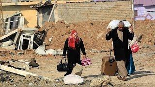 Ирак: битва за Мосул сделала беженцами более 130 тысяч человек