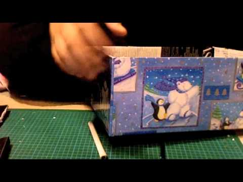 Diy magazine paper memory or storage box theeasydiy for Diy magazine box