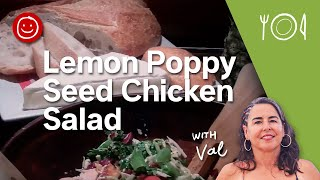 Lemon Poppy Seed Chicken Salad