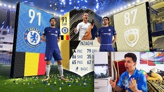 I GOT 91 IF HAZARD + ICON IN A PACK!!! (FIFA 18 PACK OPENING)