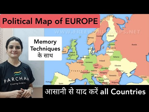 World Map: EUROPE Political Map - Learn All Countries On Map