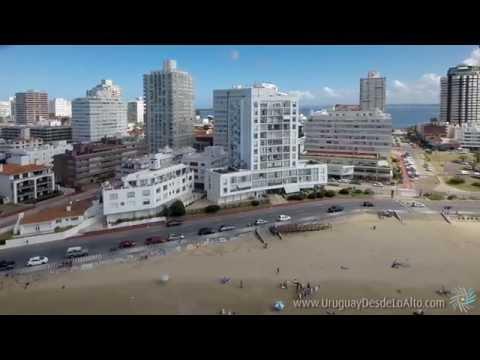 Video aéreo de la Parada 1 de Punta del Este, Uruguay Desde Lo Alto