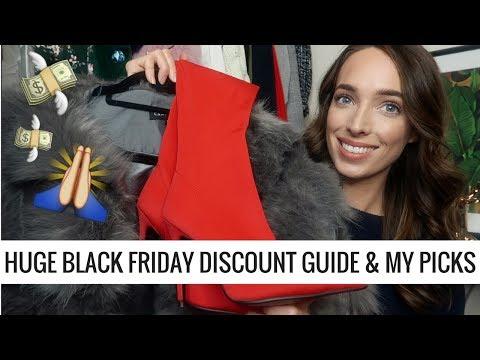 HUGE BLACK FRIDAY DISCOUNT GUIDE  💸  MY TOP SALE PICKS & CODES | CIARA O DOHERTY
