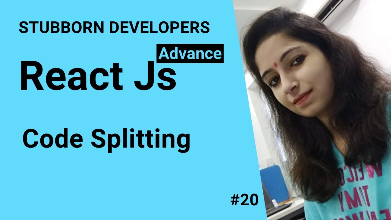 Code Splitting in React Js   Import method and React lazy withSuspence in React.js inHindi