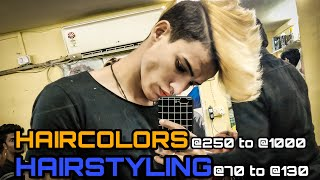 BEST HAIRCOLOR AND STYLING || VLOG 6 || RIZXTAR.