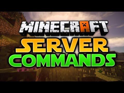 MinecraftServerCommands OP Werden Spieler Bannen Entbannen - Minecraft nitrado server gruppen erstellen