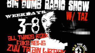 Ryan Martinie of Mudvayne on 92.5 The ZUU's Big Dumb Radio Show w/ Taz