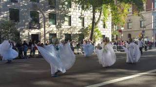 Panama en el desfile de la hispanidad 2015