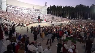 """00140 Noslēguma koncerta """"Zvaigžņu ceļā"""" ģenerālmēģinājum 7.07.2018 fragments"""