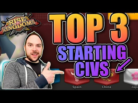 Top 3 Starting Civilizations for Rise of Kingdoms (RoK) in Spring 2020