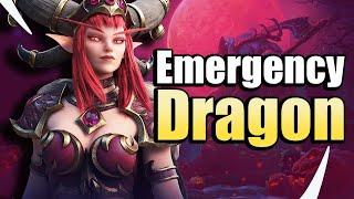 Emergency Dragon Healing! Alexstrasza Saves the Day - Heroes of the Storm w Kiyeberries