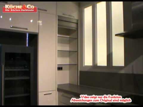 Kuche Co Aufsatzschrank Mit Jalousie Wmv Youtube