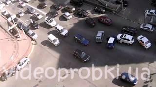 ДТП на Бассейной: Mitsubishi vs Skoda