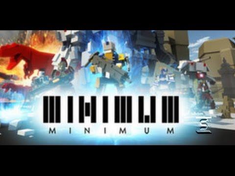 Геймплей игры Minimum - MOBA с Титанами в стиле Minecraft