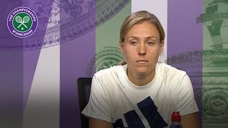 Angelique Kerber 'staying focused was the key' | Wimbledon 2018