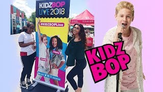 SEEING OUR FRIEND ON TOUR !! (Kidz Bop Live 2018)