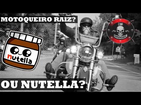 Motoqueiro Raiz ou Nutella? Vc se enquadra?