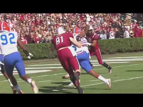 Florida Interception Leads to South Carolina Fumble Recovery