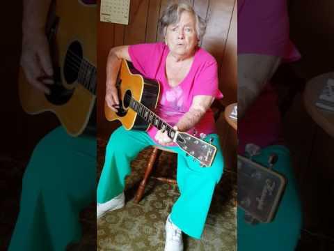 Thank God, Im free -freestyle version. My 84 year old grandmother